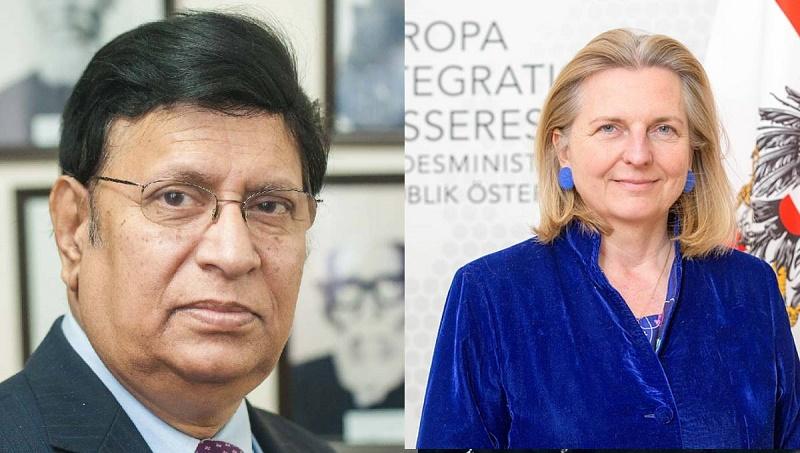 Dhaka, Vienna discuss bilateral issues