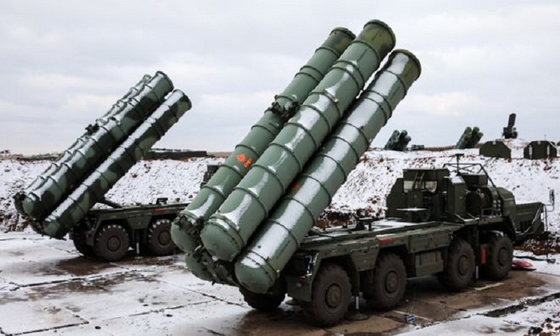 Channel storm damaged Russian S-400 missiles bound for China