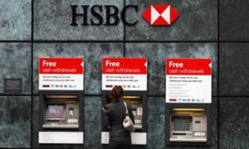 HSBC profits hit by China slowdown