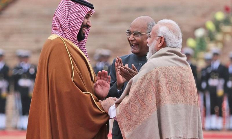 Saudi crown prince Salman lauds centuries-old ties with India