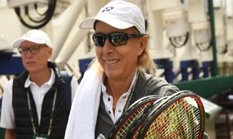 LGBT group severs links with Navratilova over transgender comments