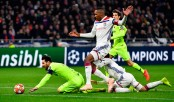 Barcelona held to goalless draw at Lyon