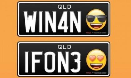 Emoji number plates launched in Queensland | 2019-02-20