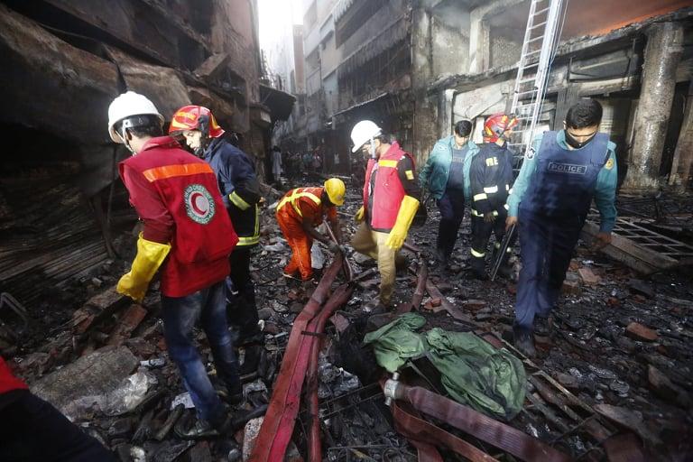 Chawkbazar fire: Rescue efforts end