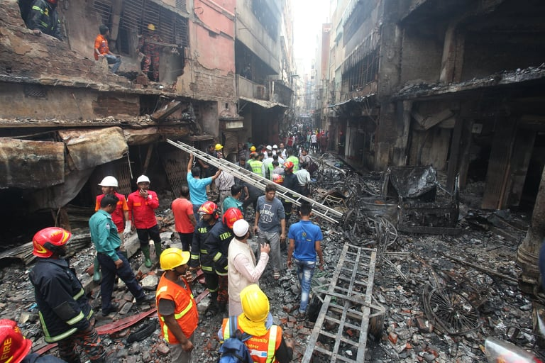 Fire service forms 3-member committee to investigate Chawkbazar fire incident