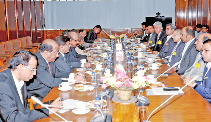 BB chief holds  meeting with  FBCCI leaders