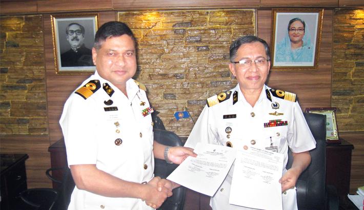 Commodore M Mahbub Ul Islam takes charge