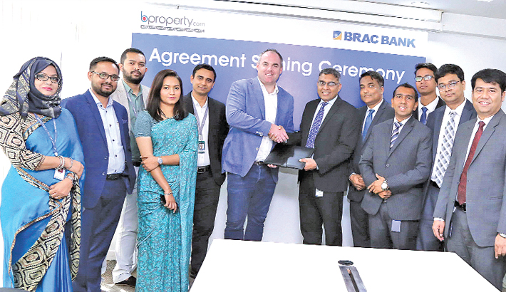BRAC Bank  inks deal with BProperty.com
