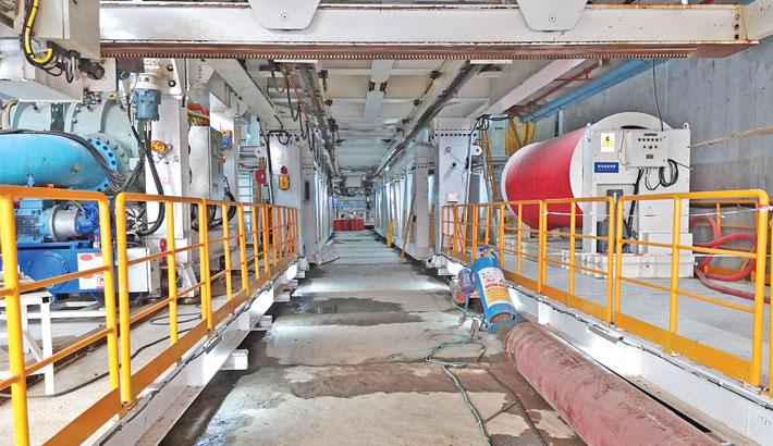 Boring work of Bangabandhu Tunnel begins Sunday