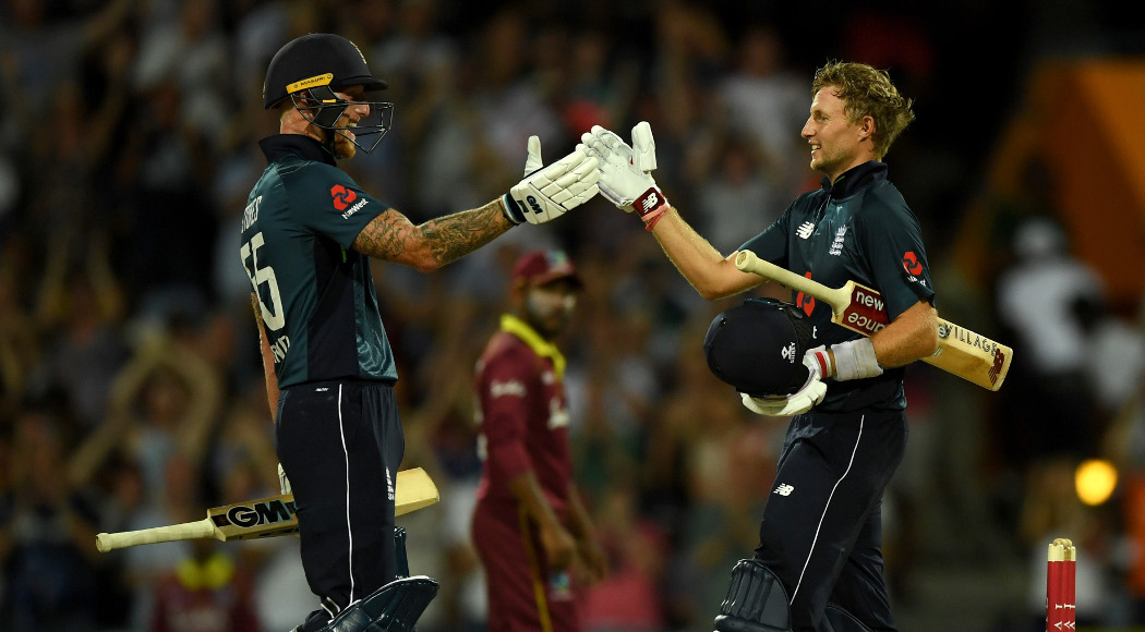England beat West Indies by six wickets in first ODI