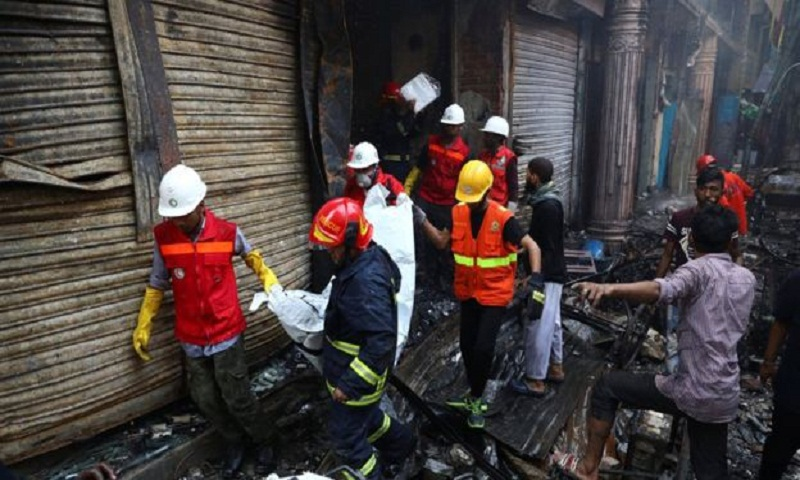 Blaze kills 78 in Chawkbazar building fire