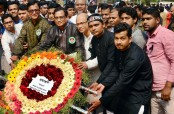 BDU VC Munaz Ahmed pays tributes to Language Martyrs