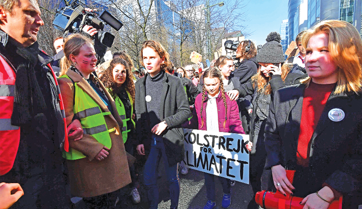 Swedish 16-years-old climate activist