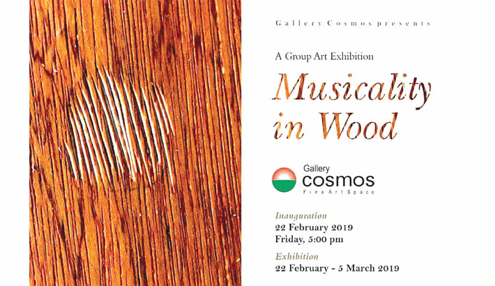 'Musicality in Wood' begins at Gallery Cosmos today