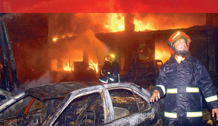Bizarre inferno kills 78