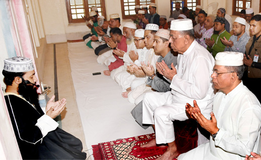 Bangabhaban holds doa mahfil for Chawkbazar victims