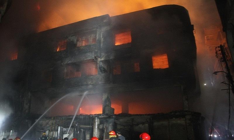 Chawkbazar fire originated from gas cylinder blast: Minister