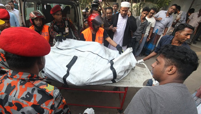 78 killed in Chawkbazar chemical warehouse fire: Officials