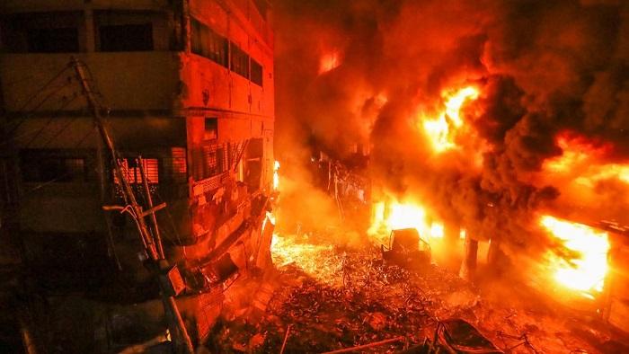 Russia, USA offer condolences for Chawkbazar fire
