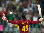 Gayle launches farewell year with bruising century