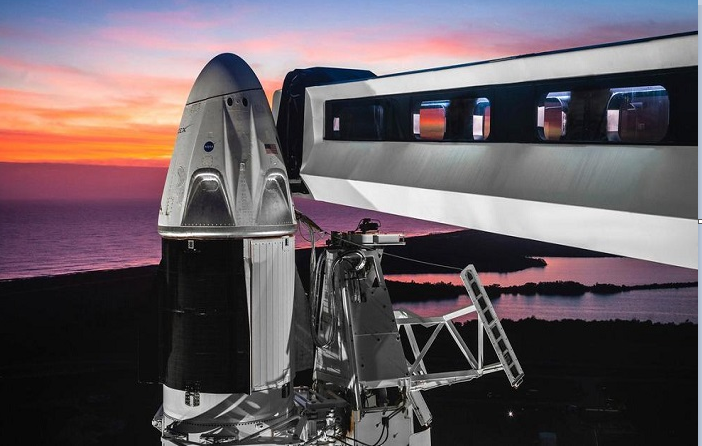 NASA, SpaceX approved 1st test flight of crew capsule