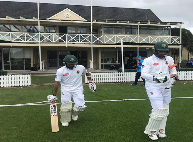 Batsmen shine on day 1 of the practice game