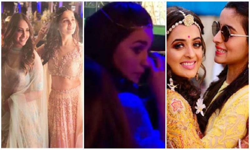 Alia Bhatt fights back tears at the wedding of her best friend