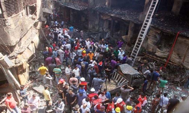 Chawkbazar fire: 29 victims buried