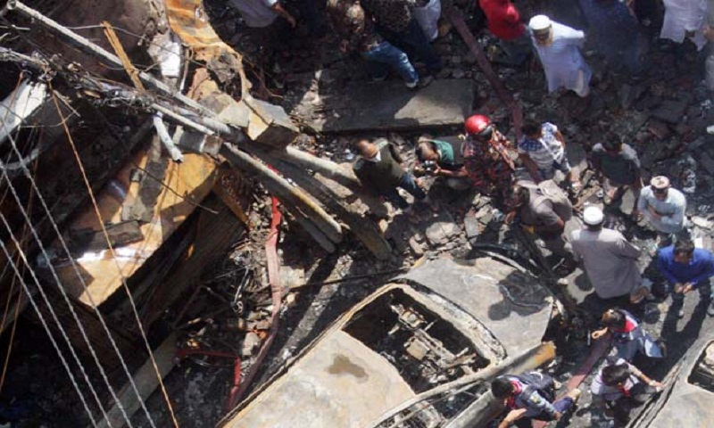 Probe body members visit Chawkbazar fire spot