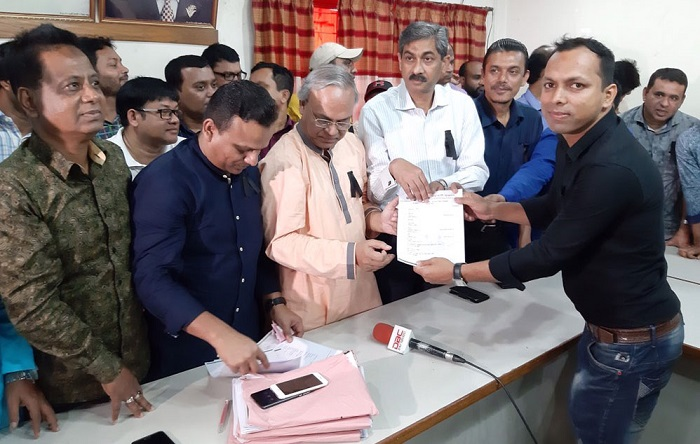 Ducsu polls: Chhatra Dal distribute nomination papers