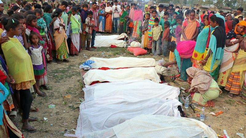 Toxic alcohol kills 93 in India's Assam, hundreds hospitalised