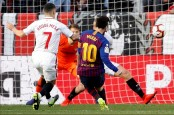 Messi hat-trick salvage Barca 4-2 win against Sevilla