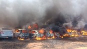 Fire at Aero India 2019 show in Bengaluru: 300 cars gutted