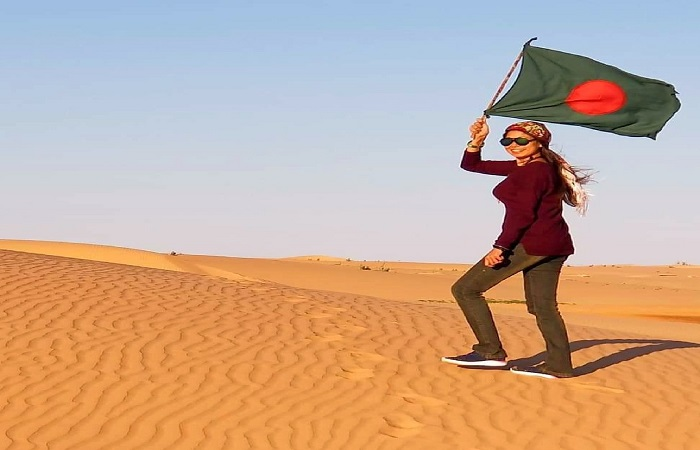 To the ends of the earth, with Bangladesh in her heart