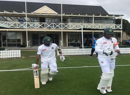 Batsmen shine on day 1 of the practice game