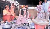 A wonderful winter camp  in Bangladesh