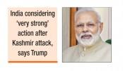 Fight against terror not  Kashmir: Modi