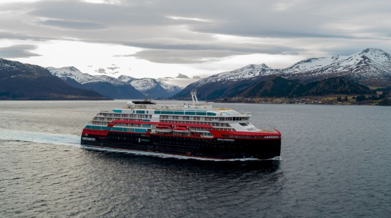 World's first hybrid powered cruise ship completes first sea trials