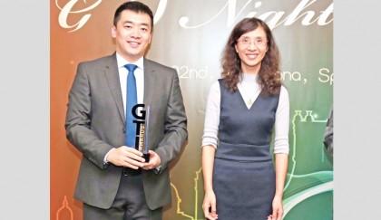 Huawei wins 'Market Dev Award'   2019-02-25   daily-sun com