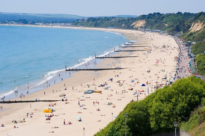 Bournemouth Beach is the best beach of UK