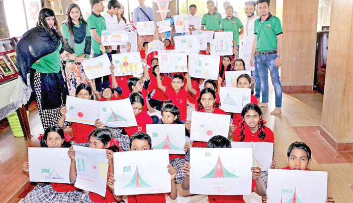 Drawing, recitation competitions for underprivileged children held