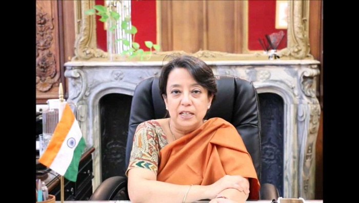 New Indian envoy Riva Ganguly arrives March 1