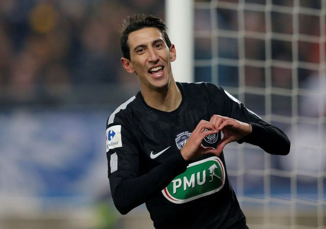 Di Maria fires PSG into French Cup semi-finals