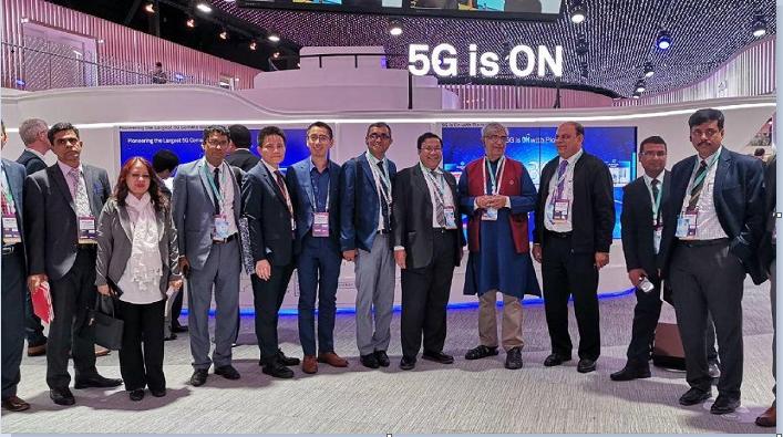 Mustafa Jabbar applauds Huawei's role in country