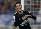 Di Maria fires PSG into French Cup semi-finals