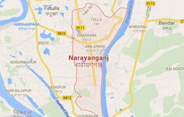 2 killed in Narayanganj road crash
