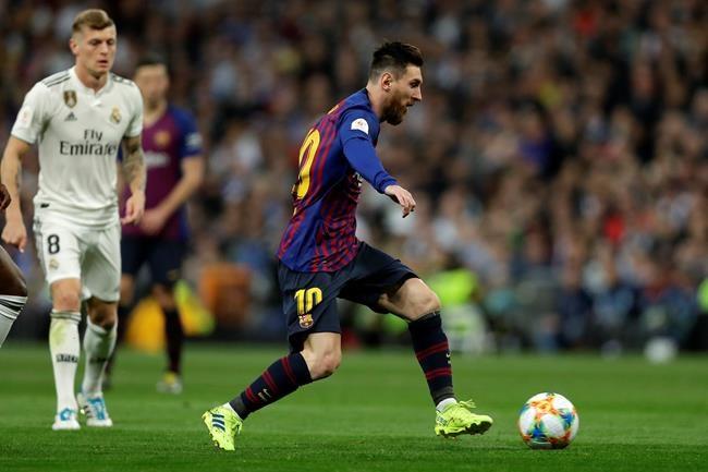 Barca stuns Madrid 3-0 at Bernabeu, reaches Copa final again