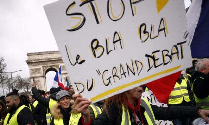 French frustrations with Macron boil over in angry debates