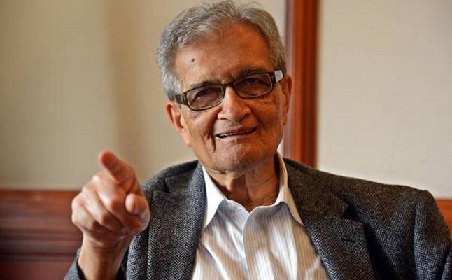Amartya Sen expresses grave concern over inherent social inequality