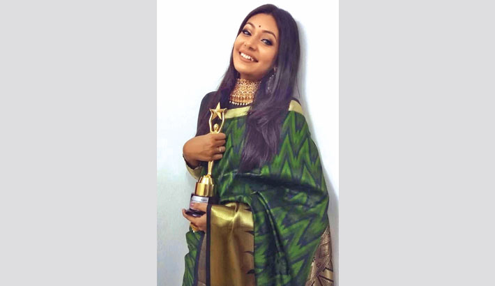 Nandita overjoyed at her first award